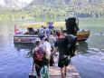 klein aber oho ,diese Bootsfahrt über den Lunzersee...Mariazeller Sonntagberg Wallfahrt von 4. - 6. Juli 2015