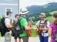 gute Wanderstimmung mit Musik...Mariazeller Sonntagberg Wallfahrt von 4. - 6. Juli 2015