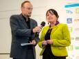 Gernot Lercher im Gespräch mit 2. Landtagspräsidenten Manuela Kohm - Steirischer Skiverband - Sportlerehrung 2016 in Mariazell