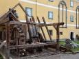 Stampfwalke von Lindmoser wird vom Mariazeller Heimathaus ins Freilichtmuseum Stübing überstellt.