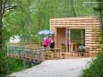 Stapelhaus am Erlaufstausee in Mitterbach am Eingang zum Naturpark Ötscher-Tormäuer
