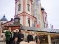 Steirer Bankerl und Mariazeller Basilika