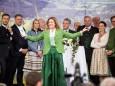 Sigrid Maurer moderiert die Eröffnung - 20. Steiermark Frühling - Steirerfest 2016 in Wien