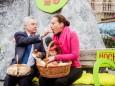 Hochsteirische Jausn von Heinz Fischer und Kathi Wenusch - 20. Steiermark Frühling - Steirerfest 2016 in Wien