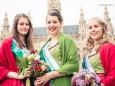 Blumenkönigin mit Prinzessinnen - 20. Steiermark Frühling - Steirerfest 2016 in Wien
