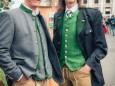 Auch in der LAHÜ auf der Teichalm werden Lindmoser Lederhosen getragen - 20. Steiermark Frühling - Steirerfest 2016 in Wien