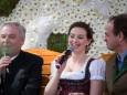 LH-Stellv. Hermann Schützenhöfer, Designerin Lena Hoschek und Georg Bliem
