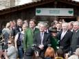 Bundespräsident Franz Fischer und seine Landeshauptleute