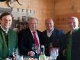 LH Franz Voves, BGM. Michael Häupl, Gußwerks Bürgermeister Michael Wallmann und NRAbg. Erwin Spindelberger