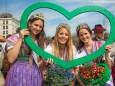 Steiermarkfrühling 2013 in Wien - Narzissenkönigin und Prinzessinnen