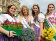 Steiermarkfrühling 2013 in Wien - Narzissenkönigin und Blumenprinzessin