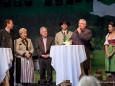Steiermark Tourismus GF Georg Bliem, Landtagspräs.  Walburga Beutl, LG Josef Pühringer, Moderator, Linzer Bgm. Franz Dobusch, Dachsteinkönigin Era