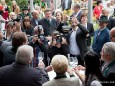Fotografen fotografieren Fotografen beim Fotografieren