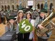 Steirerfest in Wien 2012 - Katharina Brandl & Felix Schneck mit Hoheiten