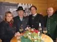 Steirerfest in Wien 2012 - BM Beatrix Karl, Gußwerks Bgm. Michael Wallmann, LH Franz Voves und NR Erwin Spindelberger