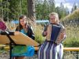 Girlie Duo der Musikschule - steirische-roas-mariazeller-buergeralpe-oktober-2020-7557