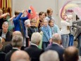 Festgottesdienst mit Abt Benedikt Plank zur Amtseinführung des neuen Superior P. Mag. Dr. Michael Staberl und des neuen Stadtpfarrers von Mariazell und Gußwerk P. Mag. Christoph Pecolt.