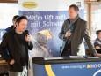 DI Christian Fröhlich und Fritz Lengauer - Eröffnung Talstation der Gemeindealpe Mitterbach am 10. Jänner 2015
