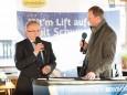 Landtagsabgeordneter Karl Bader & Fritz Lengauer - Eröffnung Talstation der Gemeindealpe Mitterbach am 10. Jänner 2015