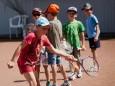 Tennis Kinder Sommer Training des UTC Mariazell