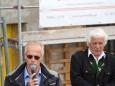 NÖVOG GF Gerhard Stindl & DI Otmar Edelbacher - Terzerhaus NEU Gleichenfeier