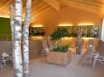 Ruheraum des Wellnessbereichs im JUFA Natur-Hotel Bruck