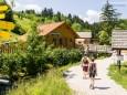 Trefflingtaler Hütte in Sulzbichl - Eingang Wanderung zum Trefflingfall im Naturpark Ötscher-Tormäuer