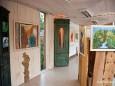 Ausstellung im Schauraum der Holzwerkstatt in Halltal