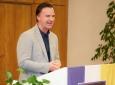 Begrüßung durch Vizebürgermeister Helmut Schweiger