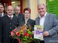 v. l. - Gusenbauer (Pfeiffer Gruppe), Bgm. Michael Wallmann, Hans Teubenbacher, Susanne Tributsch (Nah & Frisch Weinhauser), LH Stellv. Siegfried Schrittwieser