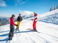 Ausblick Ötscher - Volksschulparty im Schnee - Lackenhof am Ötscher