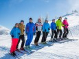 Lehrer mit Andreas Buder - Volksschulparty im Schnee - Lackenhof am Ötscher