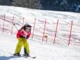 Speed-Messstrecke - Volksschulparty im Schnee - Lackenhof am Ötscher