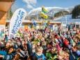 Volksschulparty im Schnee - Lackenhof am Ötscher