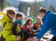 ORF Interview - Volksschulparty im Schnee - Lackenhof am Ötscher