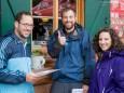 Mostviertel Tourismus Team Michael Gansch, Florian Schublach, Alexandra Neureiter - Schutzhaus Vorderötscher Eröffnung durch Landeshauptmann Erwin Pröll