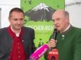 Mostviertel Tourismus-Geschäftsführer Andreas Purt & LH Erwin Pröll - Schutzhaus Vorderötscher Eröffnung durch Landeshauptmann Erwin Pröll