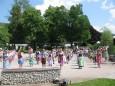 Schulfest der Volksschule Mariazell am 3. Juli 2015 mit Peter Rosegger als Thema