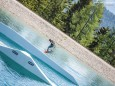 WakeAlps- Wakeboarding am Kristallsee der Mariazeller Bürgeralpe - Fotos vom ersten Testlauf