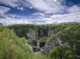 Plitvicer Seen Großer Wasserfall.  Foto: Walter Egger