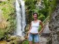 Lara - ähh Lisi in der Wasserlochklamm ;-)