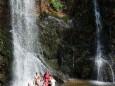 Wasserfall in der Wasserlochklamm in Palfau