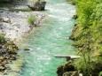 Ausblick von der Hängebrücke - Wasserloch Klamm in Palfau - Wanderung am 19. Mai 2016