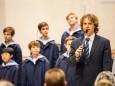 Kapellmeister Manolo Cagnin - Konzert der Wiener Sängerknaben am 4. Dez. 2014 in der Basilika Mariazell beim Mariazeller Advent 2014