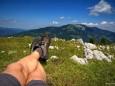 Gipfel Wildalpe / Lahnsattel - Wildalm Hütte - Wildalpe - retour