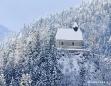 Winterlandschaft in Mariazell am 26. Jänner 2011 - Sigmundsberg Kirche