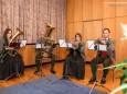 Abordnung der Stadtkapelle Mariazell - Feierliche Überreichung des Wirtschaftspreises der Stadt Mariazell