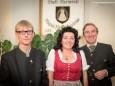 Fachausschusses für Wirtschaft und Tourismus im Gemeinderat mit  Karl Oberfeichtner, Liane Schrittwieser, Peter Kroneis - Feierliche Überreichung des Wirtschaftspreises der Stadt Mariazell