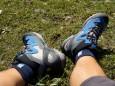Die neue Wanderschuhe von Sport Redia haben gute Dienste geleistet  - Zeller Staritzen Wandertour