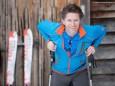 Zsolt Janos bei einer Skitour auf die Bürgeralpe